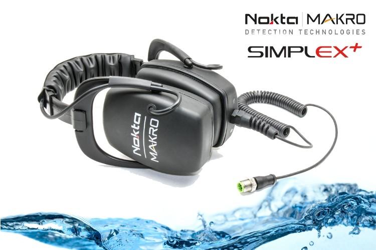 Wasserdichter Kopfhörer für den Simplex+ Metalldetektor